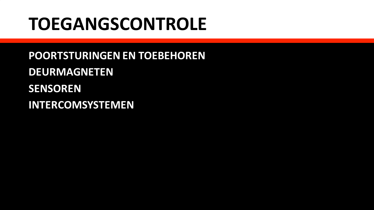 Piessens Electro Industrie - Automatisering - Toegangscontrole