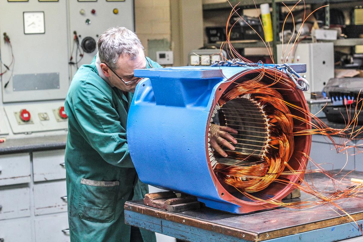 Piessens Electro Industrie - Herwikkelen van motoren - Boninage 3