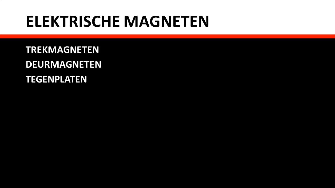 Piessens Electro Industrie - Elektrische componenten - Elektromagneten - Elektrische magneten