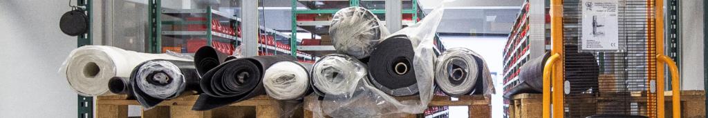 Slangen, rubber, kunststof & wielen - Rubberproducten