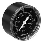 Pneumatica - Manometers - Manometers met achteraansluiting