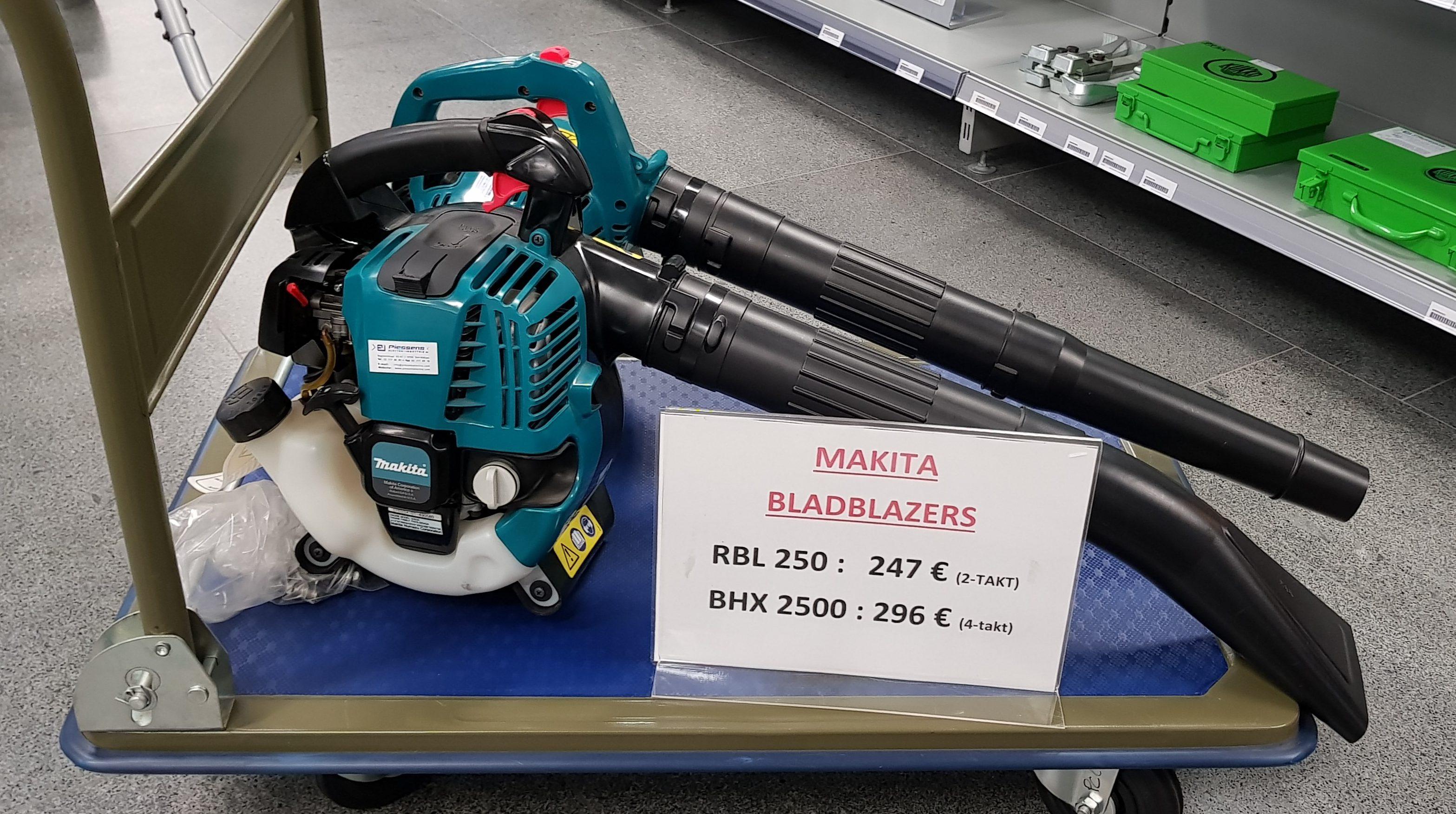 Makita bladblazer RBL250 en BHX2500