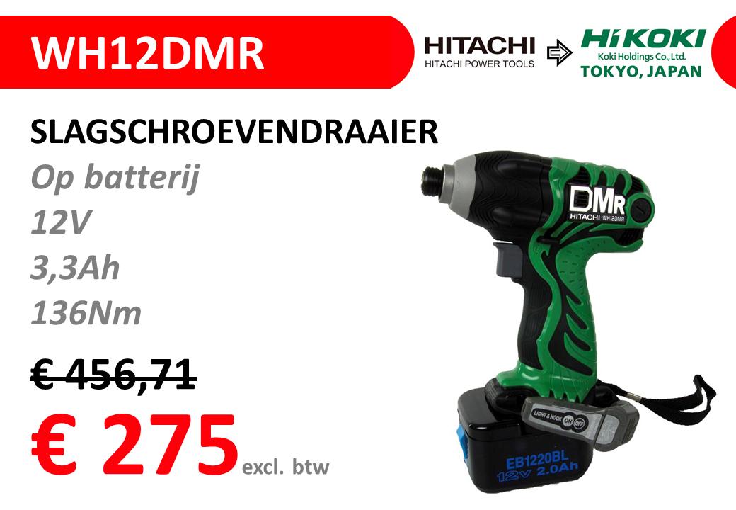 STOCKVERKOOP-HITACHI-WH12DMR