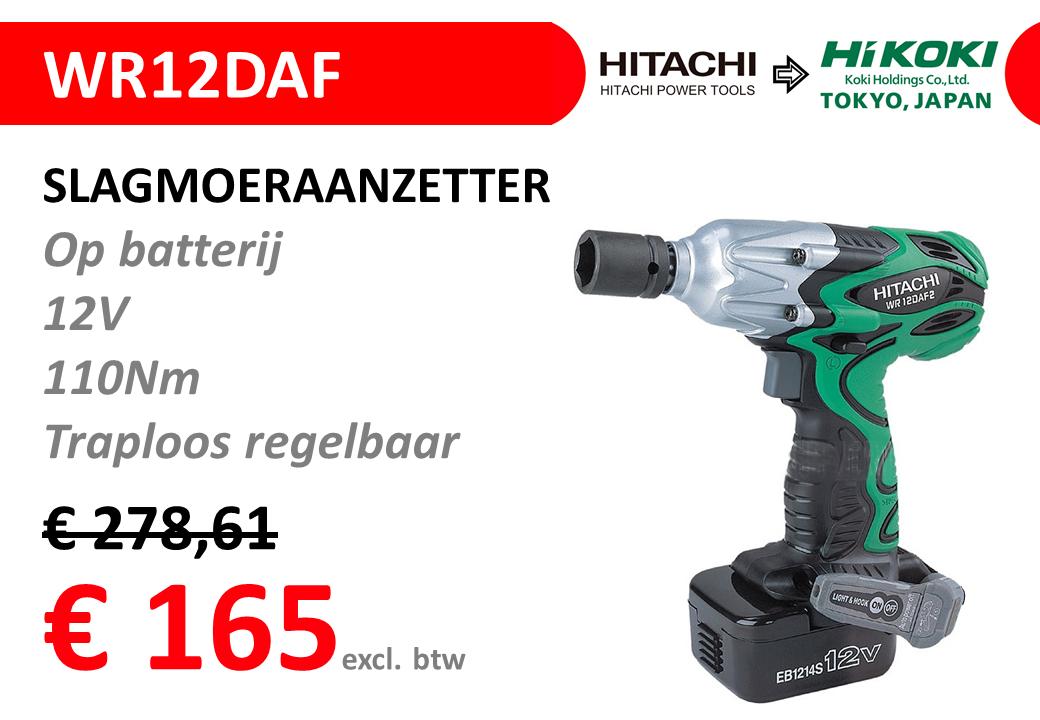STOCKVERKOOP-HITACHI-WR12DAF