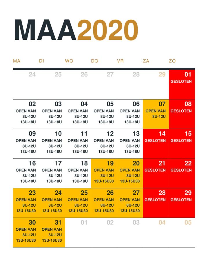 Maart 2020